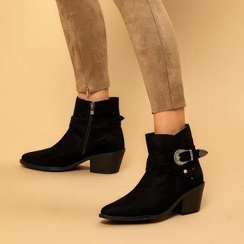 FLO 19K-158 Black Women Boots BUTIGO