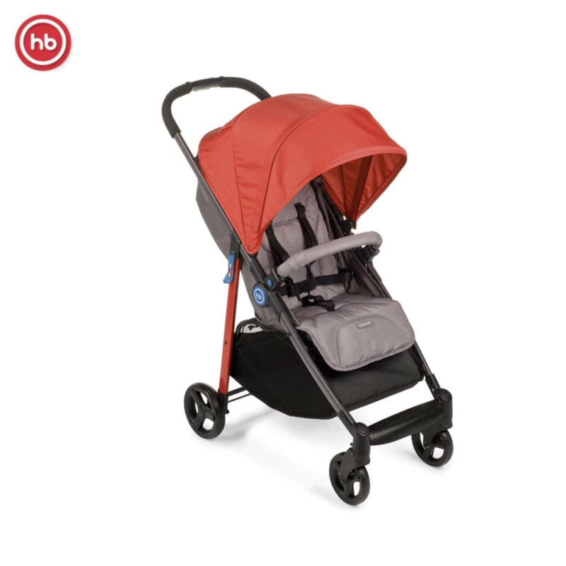 Baby Stroller Happy baby CROSSBY Foldable Portable Lightweight Baby Pram Pushchairs Kidstravel pouch light weight portable travel airplane baby stroller can sit lie car foldable summer baby umbrella cart trolley pram 0 3y
