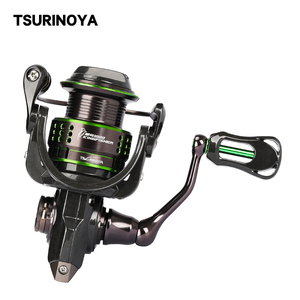 Image 2 - TSURINOYA Spinning Fishing Reel Kingfisher Double Spools Trout Reel 800 1000 1500 Extra Spool Ultralight Micro Bait Lure Reel