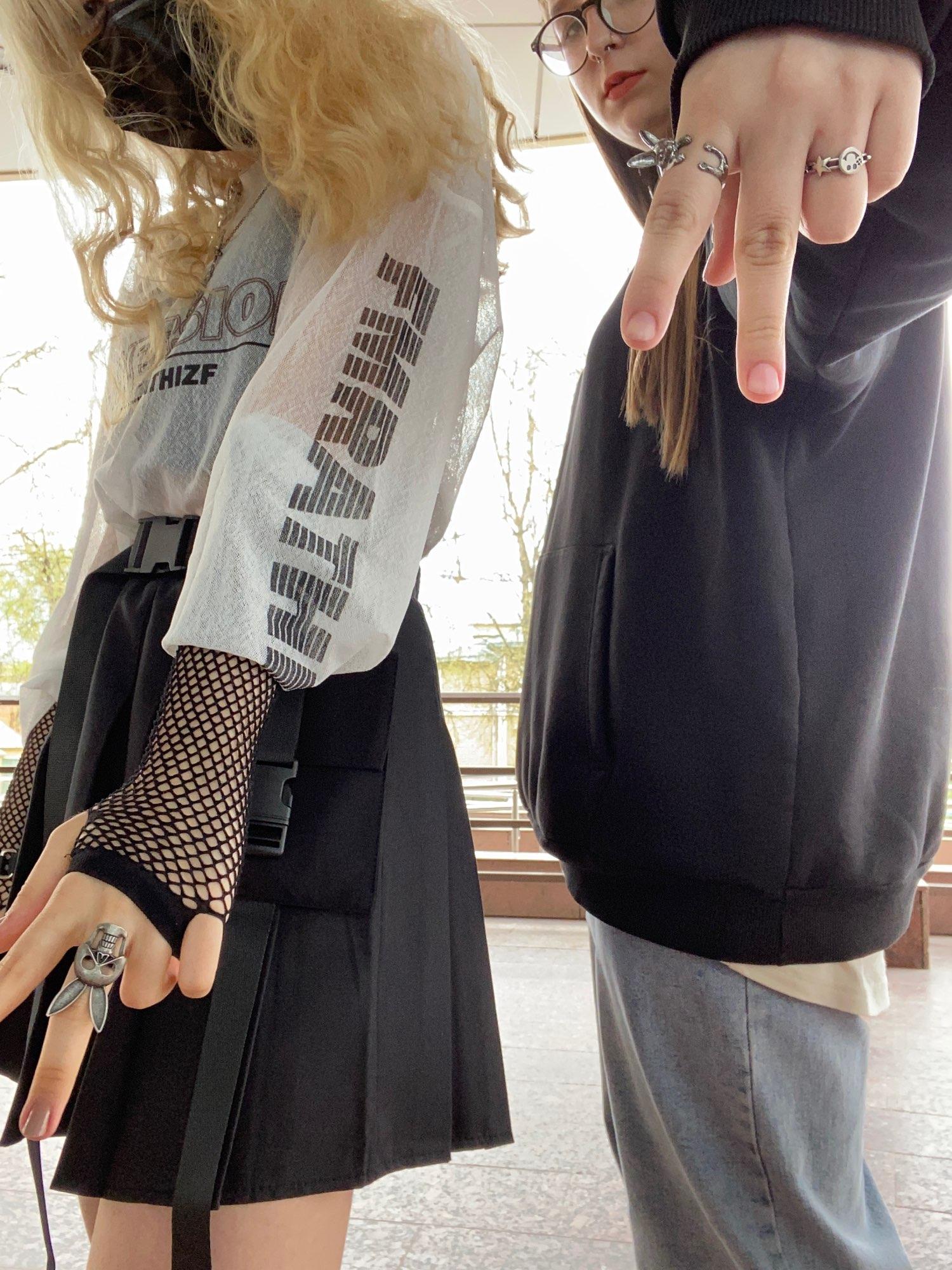 Fishnet Fingerless Long Gloves photo review