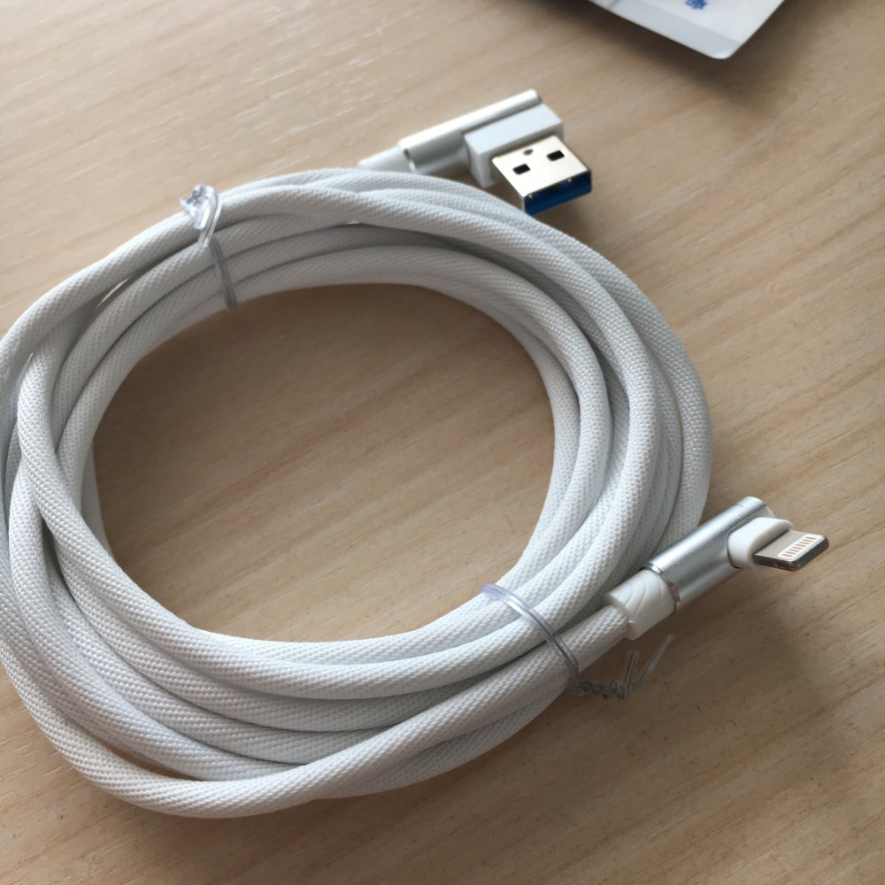 1M 2M 3M 90 Degree USB Data Charger Fast Cable for iPhone X XR XS MAX 5 5S SE 6 S 6S 7 8 Plus iPad Phone Origin long Cord Charge-in Mobile Phone Cables from Cellphones & Telecommunications on AliExpress