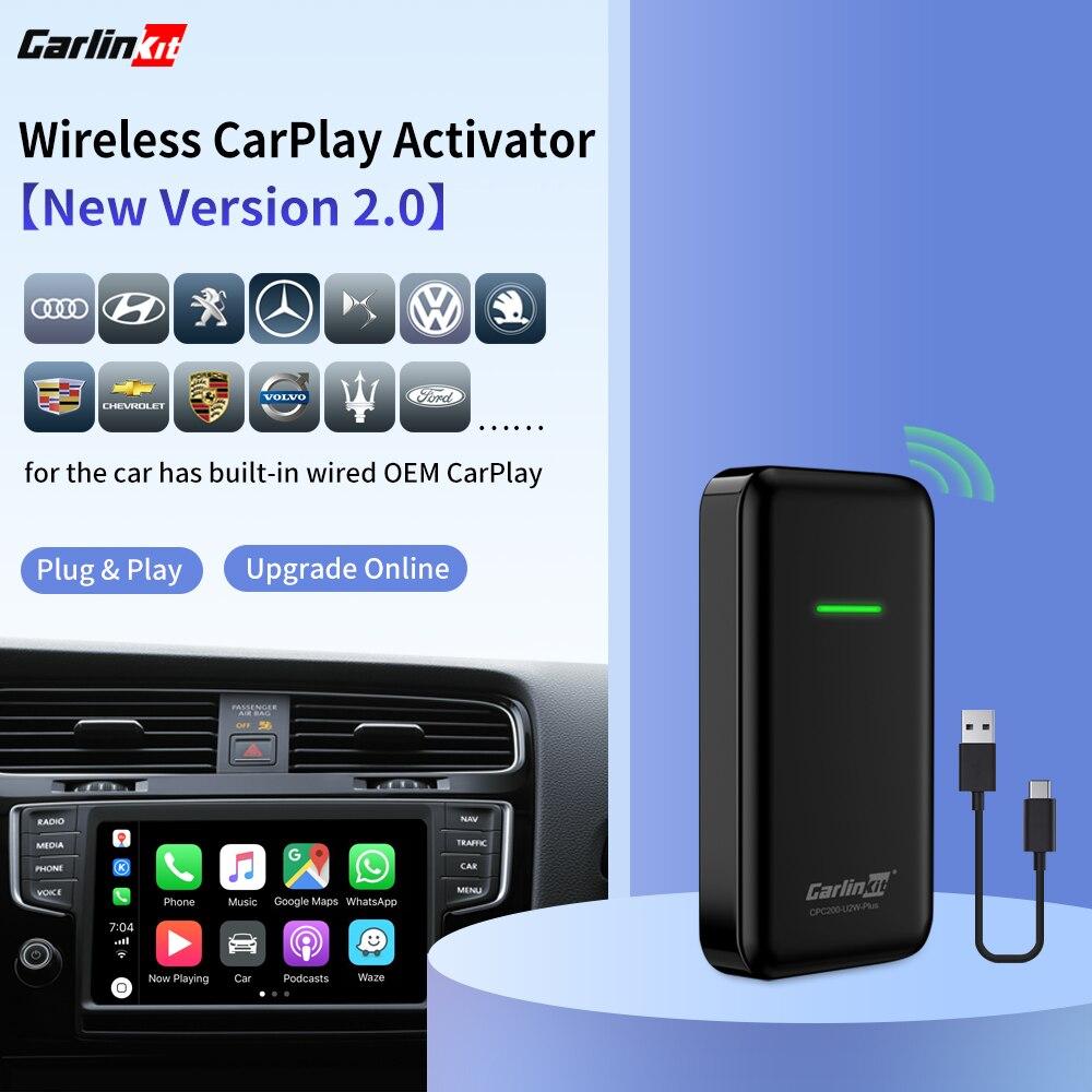 Carlinkit 2,0 Версия беспроводной активатор Apple CarPlay для оригинального автомобиля имеет проводной встроенный проводной для беспроводной iOS13|ТВ-приемник для автомобилей|   | АлиЭкспресс