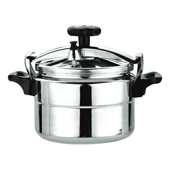 Pan pressure cooker Wonderful 008П (24 cm diameter, 8, thickness 5mm bottom thickness 5mm, thermally insulated