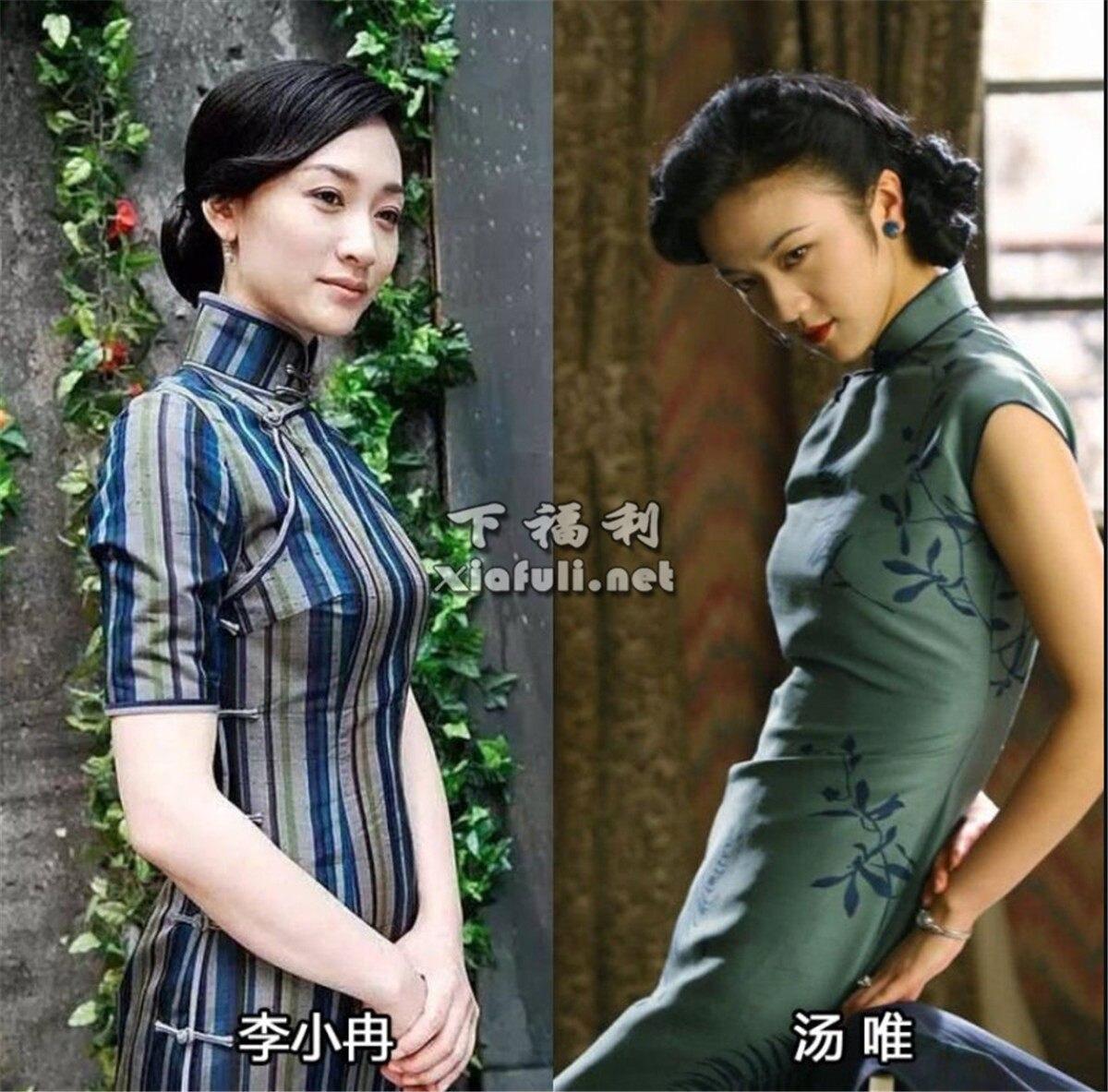 当娱乐圈女星穿上旗袍,你觉得谁最好看 ?插图12