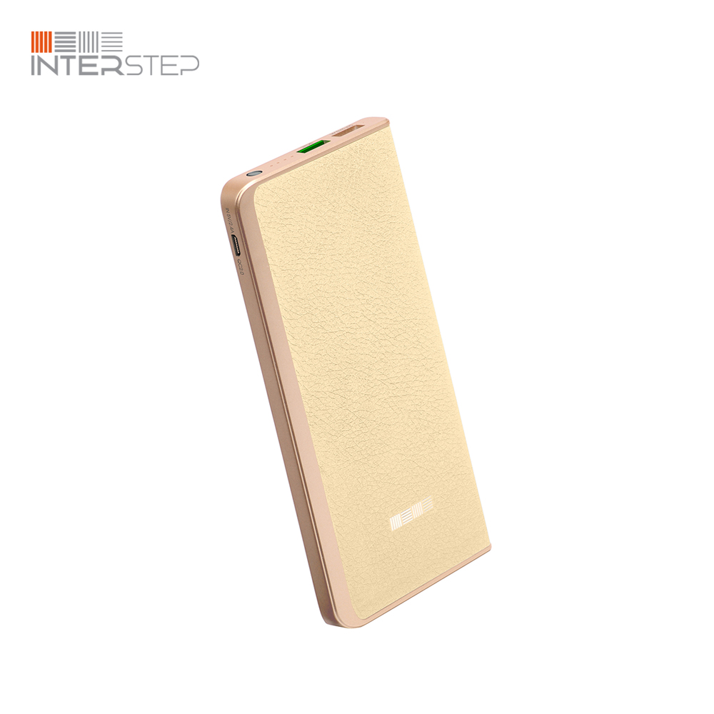 External Battery INTERSTEP PB6000QC White interstep hdp 150 white