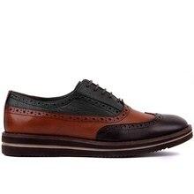 Sail Lakers zapatos de cuero genuino de suela alta diario para hombres, zapatos formales para hombres, zapatos de oficina de diseño Social, zapatos de vestir elegantes para boda para hombre
