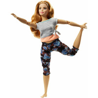Doll Barbie Limitless movement Yoga Curls