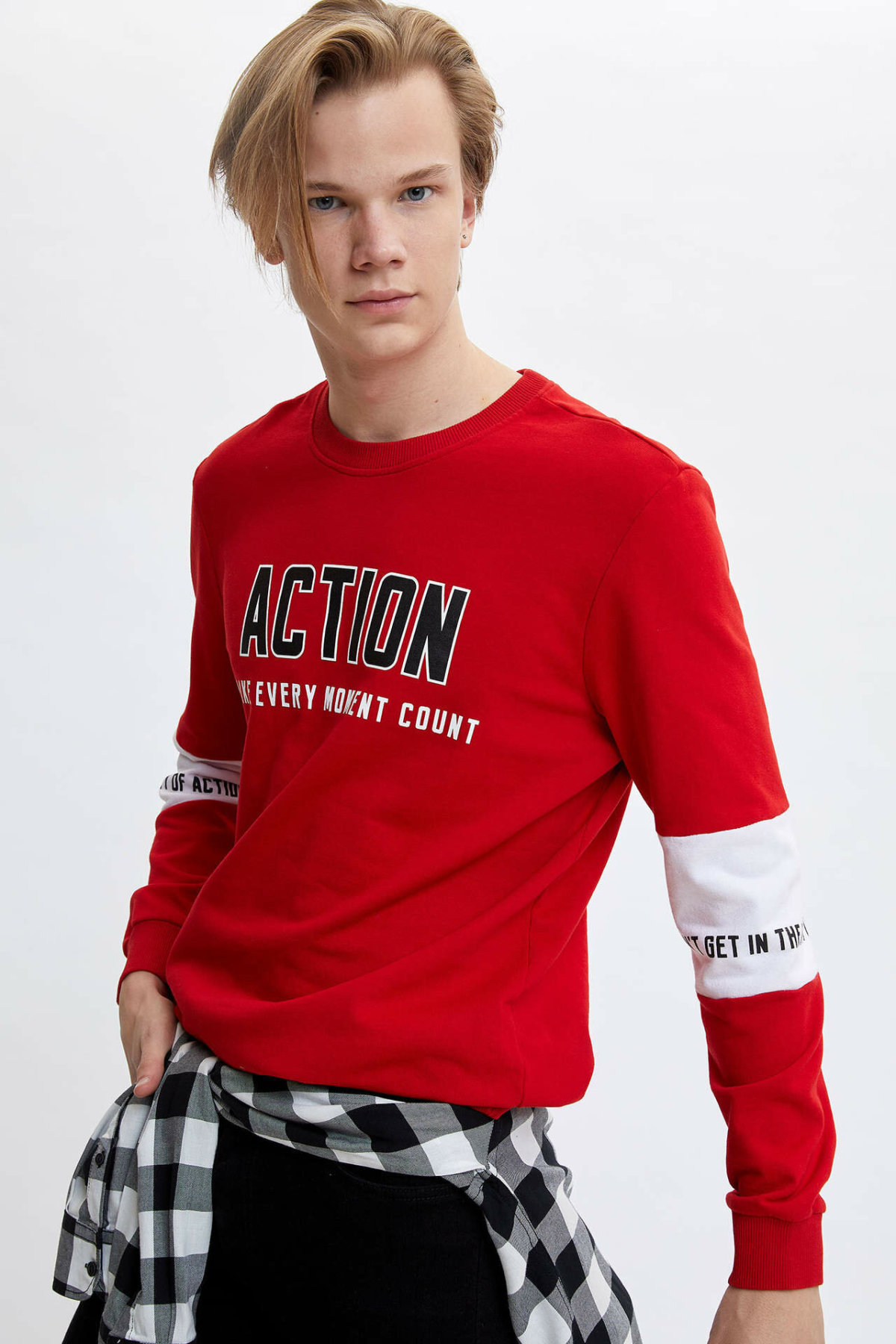 DeFacto Man Sweat Shirt-L1620AZ20SP