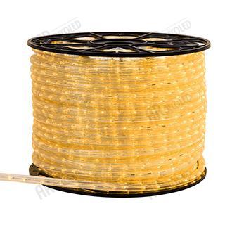 025266 Rope ARD-REG-LIVE Yellow (220 V, 24 LED/M 100 M) ARLIGHT 100th
