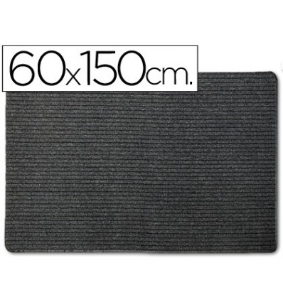 CARPET 3M POLYPROPYLENE BLACK 60X150 CM