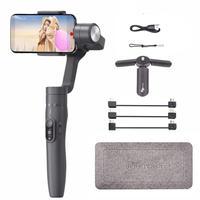 Feiyu Vimble 2 Selfie Stick Travel Gimbal Handheld Stabilizer for iPhone X 8 Plus 7 6 Samsung S9+ S9 S8+ S8 vs Zhiyun Smooth 4