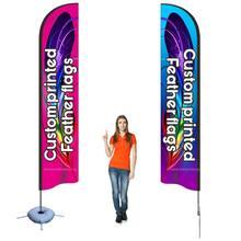Bandeira de penas de praia personalizado impressão banner conjunto completo publicidade promoção comércio mostrar qualquer logotipo clube esporte usando