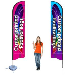 beach flag feather Flag custom print banner complete set advertising promotion trade show any logo company club sport using(China)