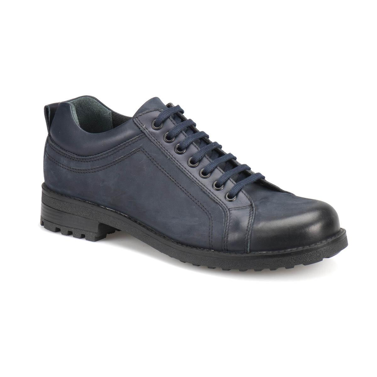 FLO 4010 Navy Blue Men 'S Shoes Forester