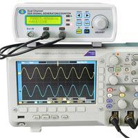 JDS6600 Series Digital Control Dual Channel DDS Function Signal Generator Arbitrary Sine Waveform Frequency Meter
