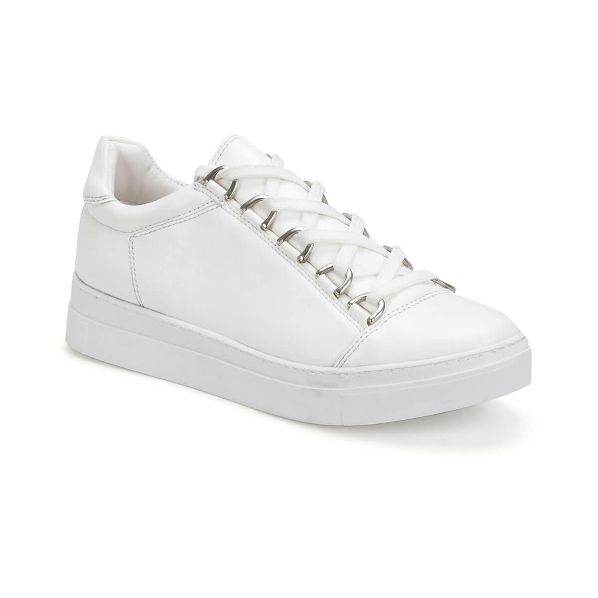FLO CS18087-19S White Women 'S Sneaker Shoes Art Bella