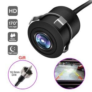170° Wide Angle Car Reverse Camera HD Night Vision Rear View Camera Backup Parking Camcorder Highly Waterproof Reversing Monitor(China)