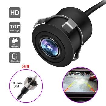 170° Wide Angle Car Reverse Camera HD Night Vision Rear View Camera Backup Parking Camcorder Highly Waterproof Reversing Monitor