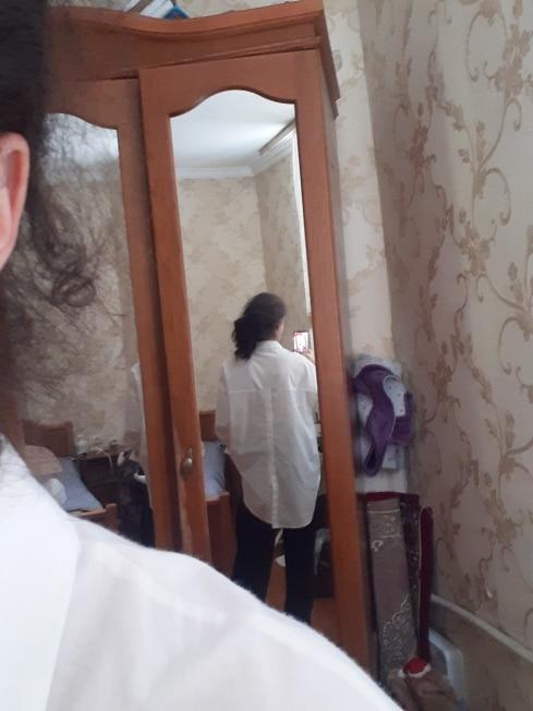 Celmia Fashion Women White Shirt 2021 Autumn Blouses Lapel Casual Solid Long Sleeve Buttons Asymmetric Tunic Top Blusas Oversize photo review