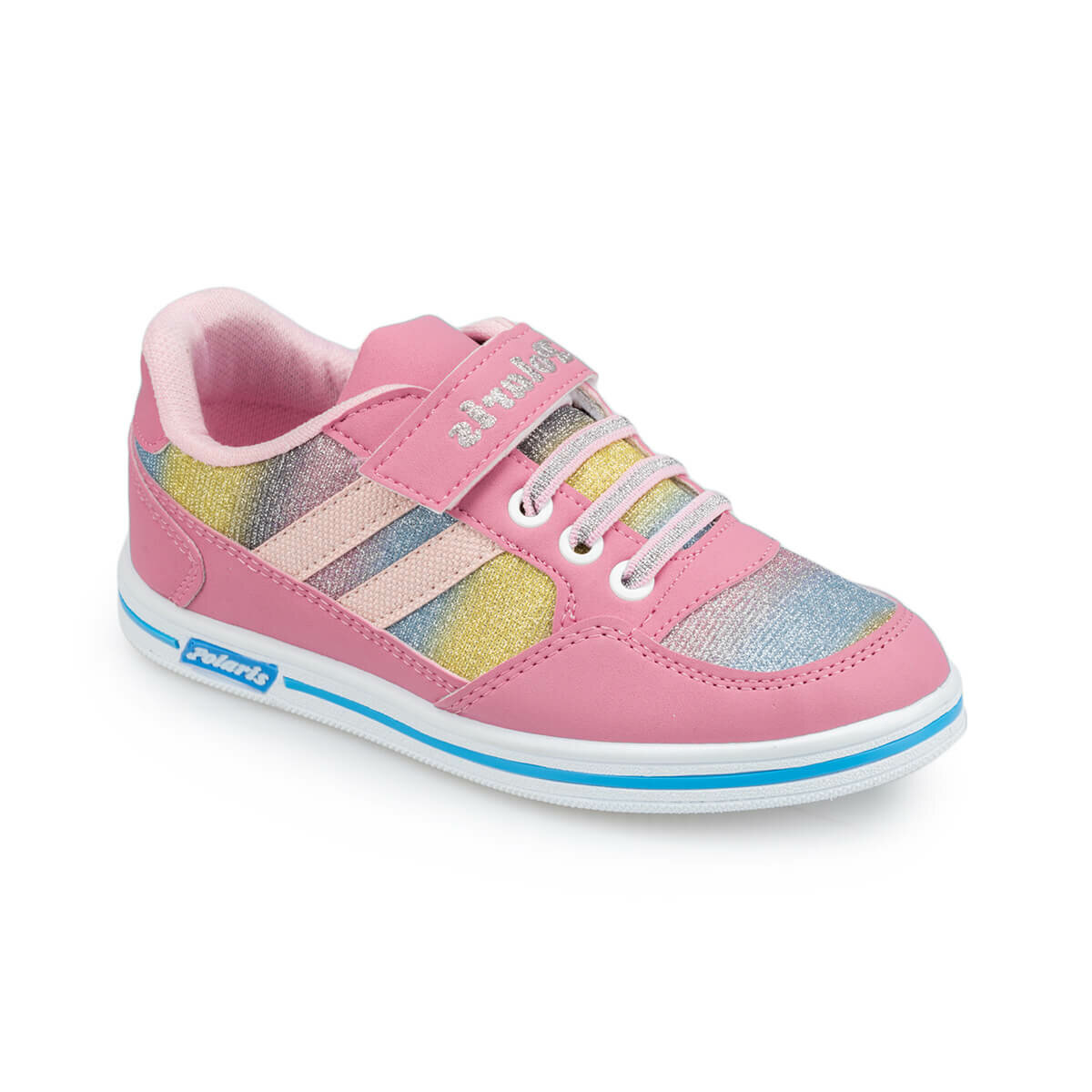 FLO 91.509314.F Pink Female Child Sneaker Shoes Polaris