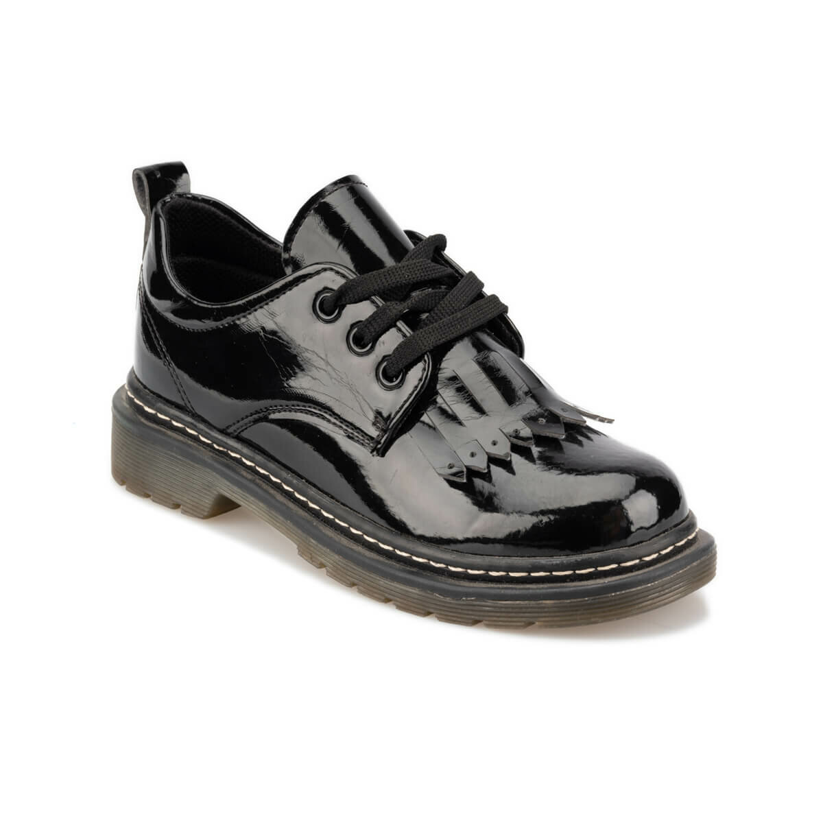 FLO 92.511903.F Black Female Child Shoes Polaris