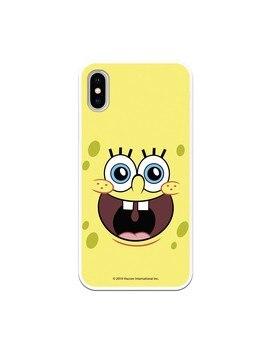 Funda para iPhone X Oficial de Nickelodeon Bob Alegre - Bob Esponja