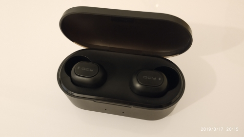 QCY QS2 TWS Bluetooth V5.0 Headphones 3D Stereo Sports Wireless Earphones with Dual Microphone-in Bluetooth Earphones & Headphones from Consumer Electronics on AliExpress