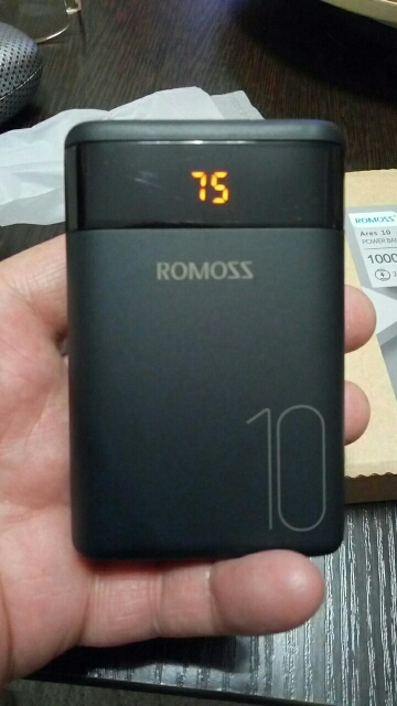 ROMOSS Ares 10 10000mAh Power Bank With Double USB Port Powerbank External Battery Pack Travel Size Portable Charger For iPhone Power Bank    - AliExpress