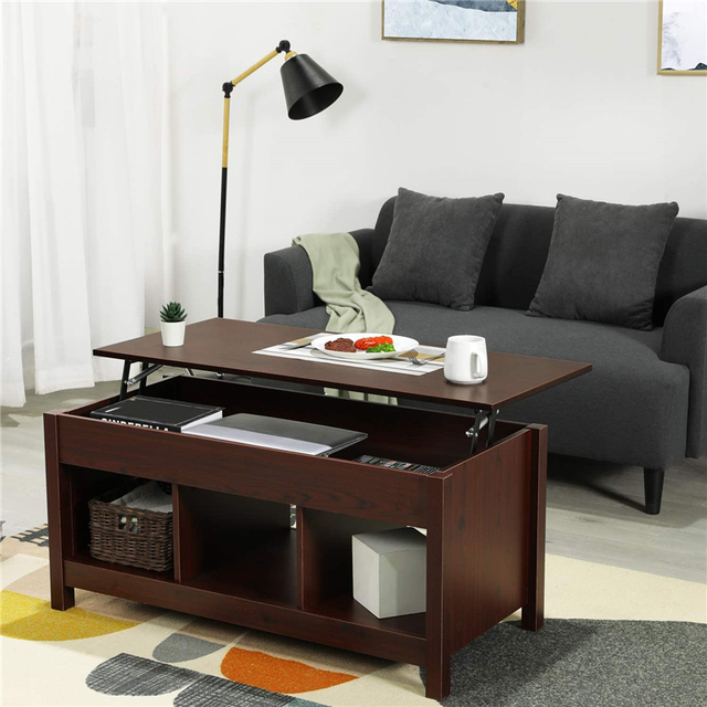 Coffee Table w/ Hidden Storage Compartment  1