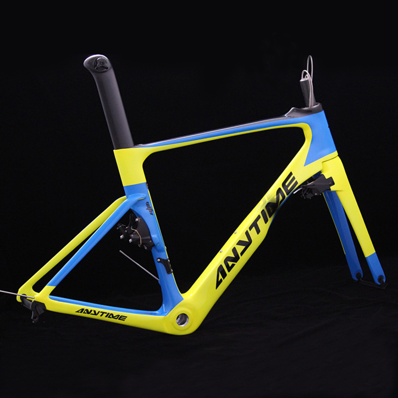 Factory Customized Carbon Fiber Frame E-bike/MTB/AERO ROAD & RACING Bike Parts Carbon Frame Cyclocross Frameset