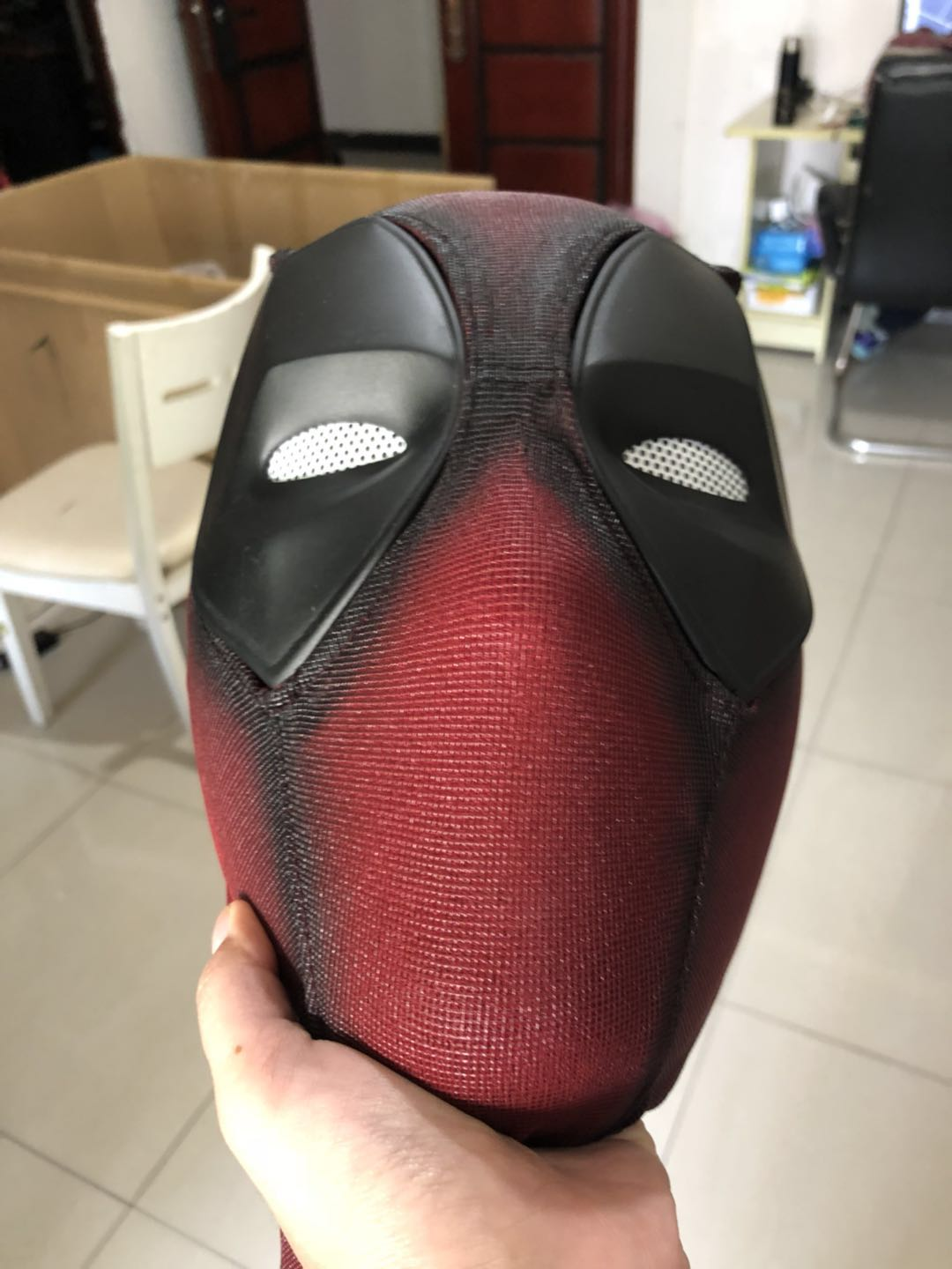 Deadpool Face Shell And Mask Deadpool Cosplay Mask /helmet /cowl