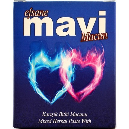 Efsane Mavi Epimedium Turkish Honey Mix Macun Paste – Horny Goat Weed Gindseng Cinnamon  Aphrodisiac Turkish Paste, 240gr, Halal 3