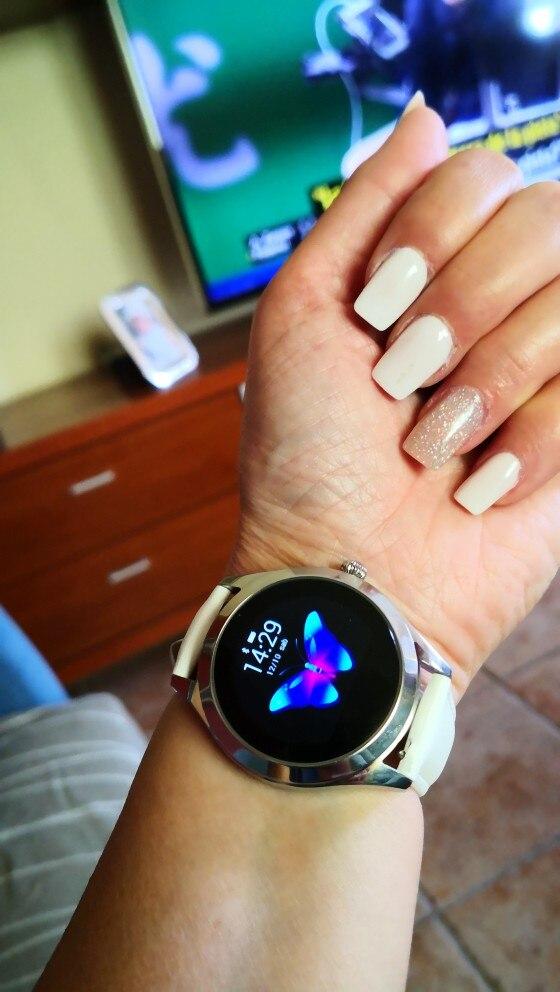 2020 Fashion Smart Watch Women KW10 IP68 waterproof Multi sports modes Pedometer Heart Rate smartwatch Fitness Bracelet for Lady|Smart Watches| |  - AliExpress