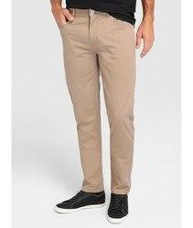 LACOSTE pantaloni CINQUE TASCHE pantaloni lunghi per gli uomini di colore Verde di abbigliamento maschile 2020 Del Marchio Del Coccodrillo