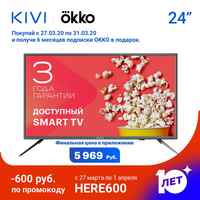 TV 24 Kivi 24h500gr HD DVB-T2