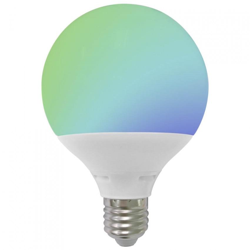LED Globe Bulb E27 9W Equi.60W 806lm RGB 25000H 7hSevenOn