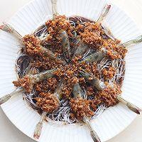 花式蒜蓉粉丝蒸虾的做法图解9