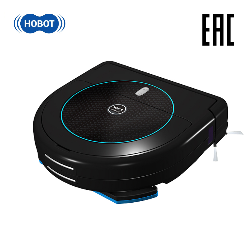 HOBOT Legee 668 powerful suction electric automatic sweeping wiping robot vacuum cleaner floor washer cleaning home household canister vacuum cleaner for home puppyoo p9 aspirator powerful suction 2200w cyclone portable household cleaning appliances
