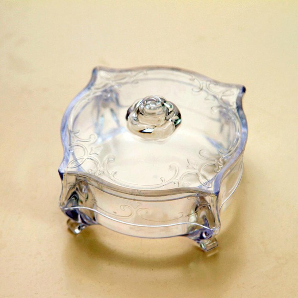 Купить акриловый чехол для хранения ювелирных изделий с кольцом в виде