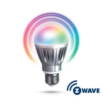 Z-Wave Zipato RGBW Bulb 1 EU Freq 868MHz E27