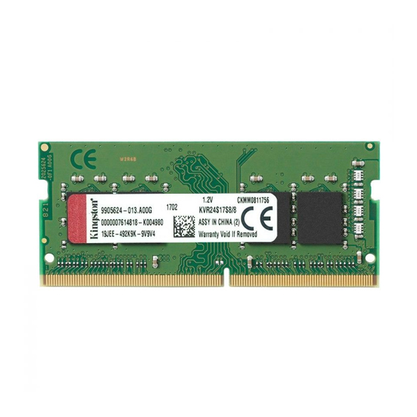 <font><b>RAM</b></font> Memory Kingston <font><b>8GB</b></font> <font><b>DDR4</b></font> <font><b>2400MHz</b></font> Module KVR24S17S8/8 8 GB <font><b>DDR4</b></font> 2400 MHz SO-DIMM image