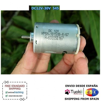 Electric Motor DC12V 24V 30V high speed Torque bearing 545 545 motor diy model toy motor generator mute high torque dc 12v 24v