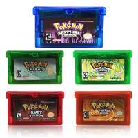 Poke Series GameBoyA Game Card For Nintend NDSL GB GBC GBM SP