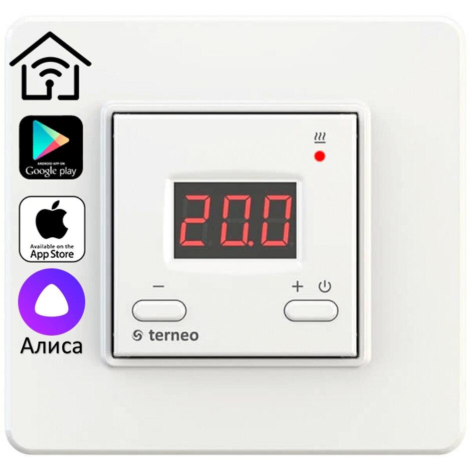 Терморегулятор Terneo AX (Wi Fi, 16 А, 3 шт.)|Умная система управления температурой|   | АлиЭкспресс