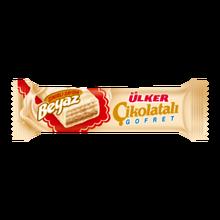 YOUR BREAKFAST WITH NEFIS CHOCOLATE Ülker White Chocolate Hazelnut Cream Wafer 35 G FREE SHIPPING