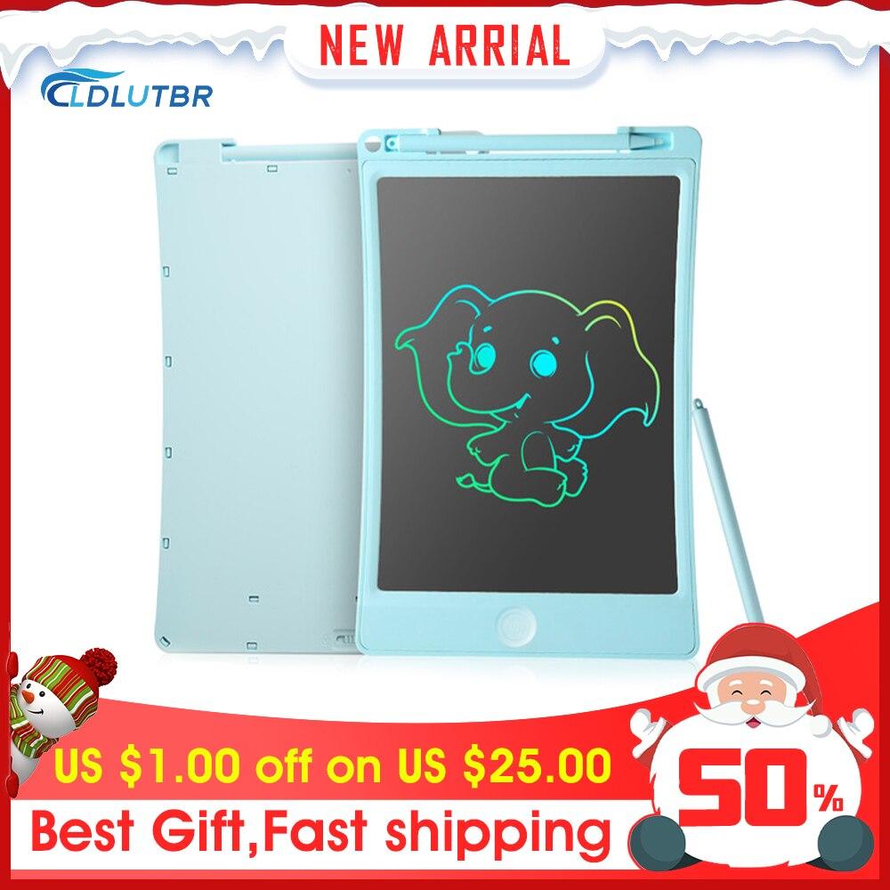 Ldlutbr 8.5/10 Polegada lcd escrita tablet desenho digital tablet almofadas de escrita portátil placa de tablet eletrônico placa ultra-fina