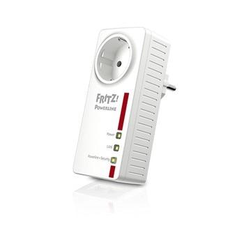 PLC Adapter Fritz! 1220E LAN 1200 Mbps White