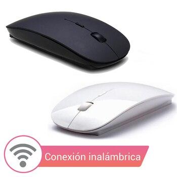 Ультра-тонкий дизайн беспроводная компьютерная мышь летучая мышь беспроводной связи для ноутбуков и настольных ПК под управлением ОС Windows ...