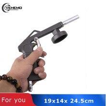 Vehemo LB-09 защита шасси струйная винтовка пистолет-распылитель лак Воздушный Двигатель с трубой прочный автомобильный внутренний пистолет для мойки Металлический Стальной LB-09