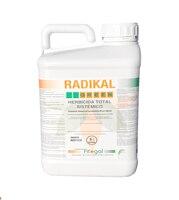 Fitogal radikal verde ultra plus. Envase 5 l. Total da herbicida acción sistema não residual para o controle de malezas